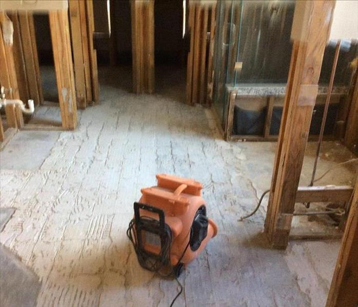 Master Bathroom Flooded By Hurricane Harvey After