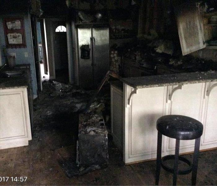 Kitchen Fire in Jasper, Alabama