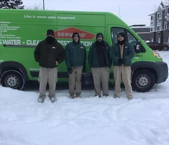 Why SERVPRO Cold Weather Heroes