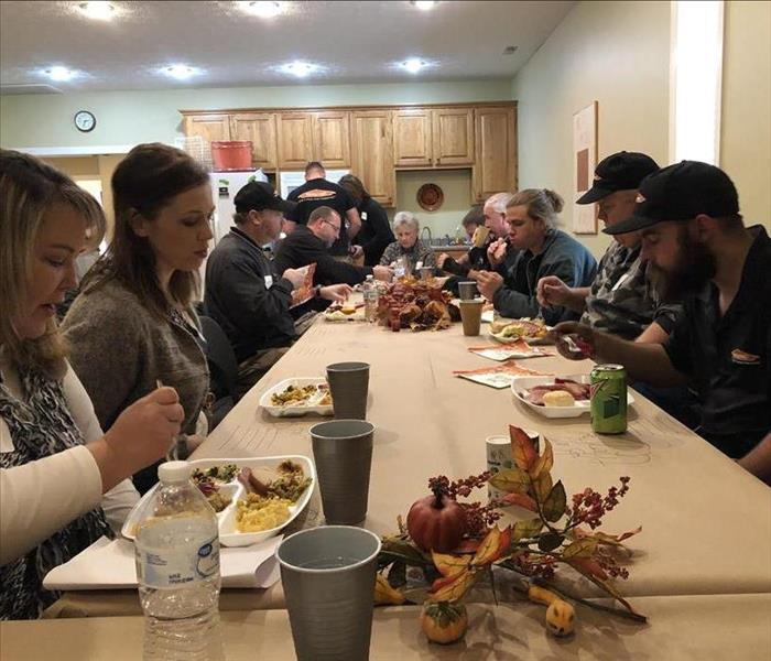 Why SERVPRO Training & Thanksgiving
